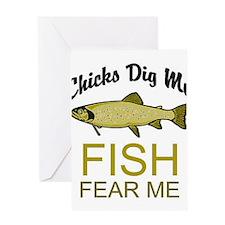 Fish Fear Me Greeting Card