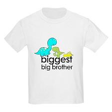 biggest big brother t-shirt dinosaur T-Shirt