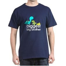 ADULT SIZE biggest big brother t-shirt dinosaur