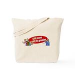Love Jesus Tote Bag