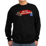 Love Jesus Sweatshirt (dark)
