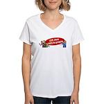 Love Jesus Women's V-Neck T-Shirt