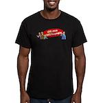 Love Jesus Men's Fitted T-Shirt (dark)