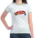 Love Jesus Jr. Ringer T-Shirt