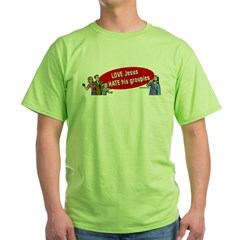 Love Jesus Green T-Shirt
