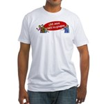 Love Jesus Fitted T-Shirt
