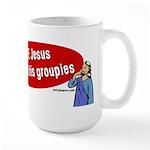 Love Jesus Large Mug