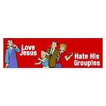 Love Jesus Bumper Sticker (50 pk)