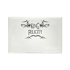 King Felicity Rectangle Magnet