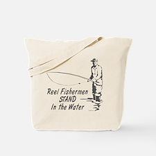 Reel Fishermen Tote Bag