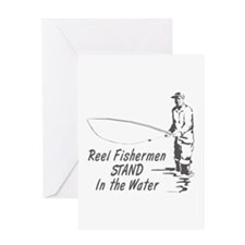 Reel Fishermen Greeting Card