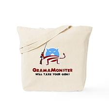 Takes Your Guns Tote Bag