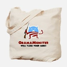 Takes Your Guns Tote Bag