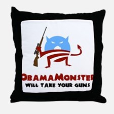Takes Your Guns Throw Pillow