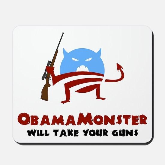 Takes Your Guns Mousepad