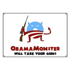 Takes Your Guns Banner