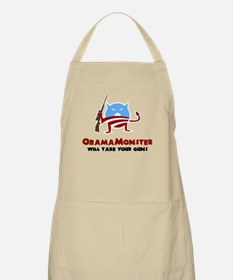 Takes Your Guns BBQ Apron