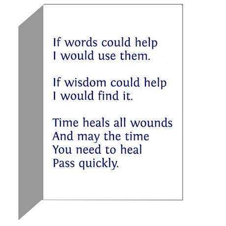 Odetteness - Sympathy Cards (Pk of 10)