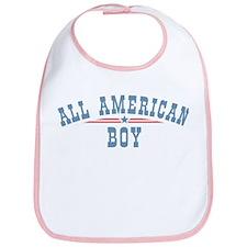 All American Boy Bib