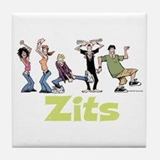 Dancing Everyone Tile Coaster