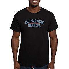 All American Grandpa Men's Fitted T-Shirt (dark)