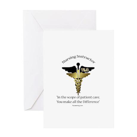 Nursing Instructor Greeting Card CD