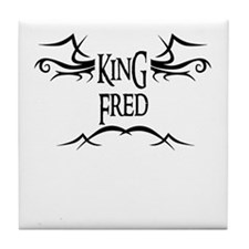 King Fred Tile Coaster