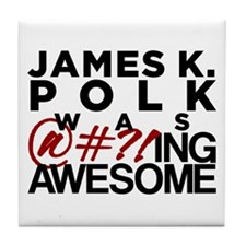 James K. Polk Tile Coaster