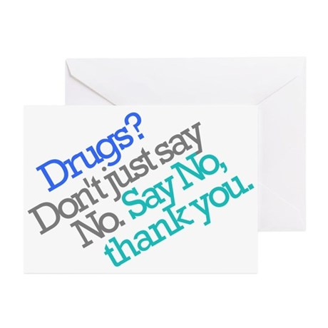 No thank you Greeting Cards (Pk of 20)