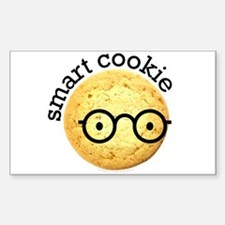 Smart Cookie Rectangle Decal