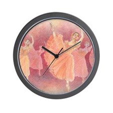 Waltz of the Flowers Ballet Wall Clock