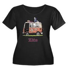 Jeremy VW Van Women's Plus Size Scoop Neck Dark T-