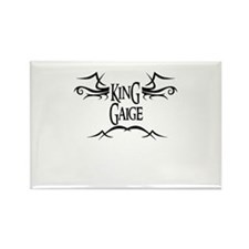 King Gaige Rectangle Magnet