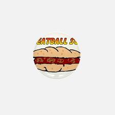Meatball Sub Mini Button