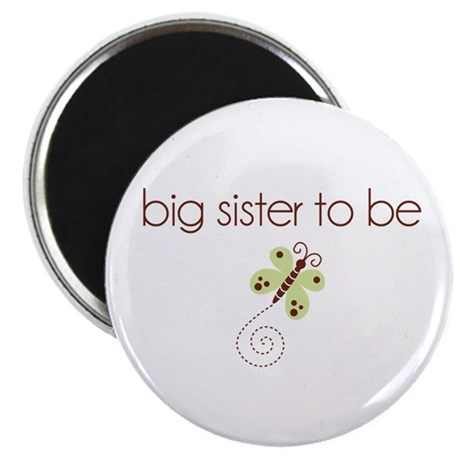 big sister to be dragonfly Magnet