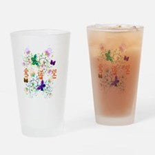 Unique Hope butterfly Drinking Glass