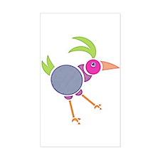 Gooney Bird Rectangle Decal