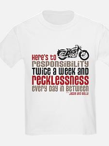 Cute New moon motorcycles T-Shirt