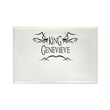 King Genevieve Rectangle Magnet