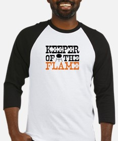 Keeper of the Flame (Grill) Baseball Jersey