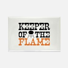 Keeper of the Flame (Grill) Rectangle Magnet