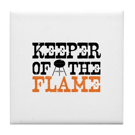 Keeper of the Flame (Grill) Tile Coaster