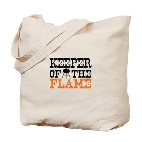 Keeper of the Flame (Grill) Tote Bag