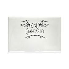 King Giancarlo Rectangle Magnet