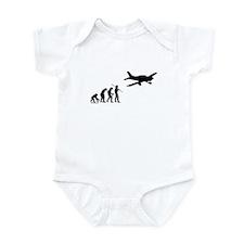 Airplane Evolution Infant Bodysuit