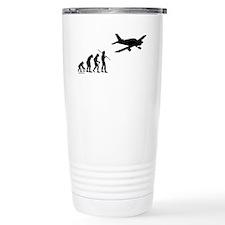 Airplane Evolution Travel Coffee Mug
