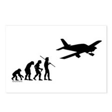 Airplane Evolution Postcards (Package of 8)