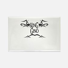 King Gino Rectangle Magnet