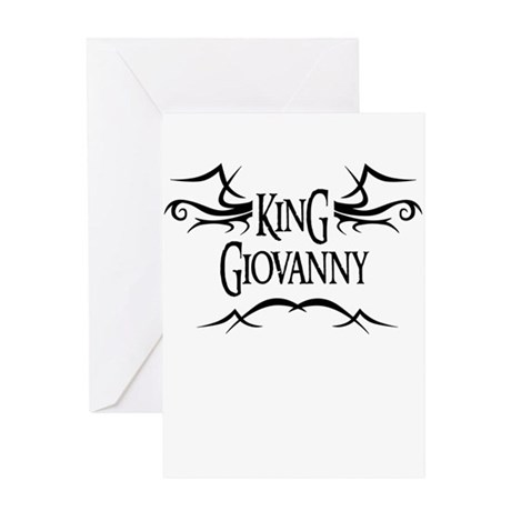 King Giovanny Greeting Card