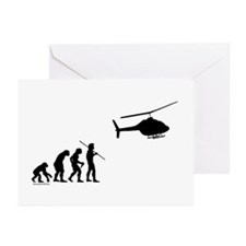 Copter Evolution Greeting Cards (Pk of 20)